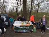 Town of Mamaroneck Spring Cleanup of Hommocks Conservation Area