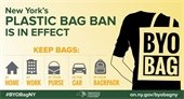 NYS Plastic Bag Ban in Effect