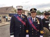 Grand Marshalls, Lt. Doherty and Dennis Tortorella