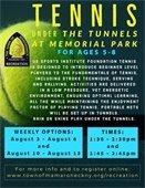 Tennis Under The Tunnels Program
