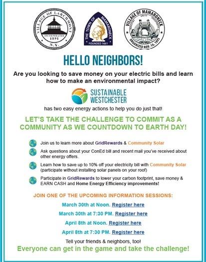Community Energy Challenge Flyer