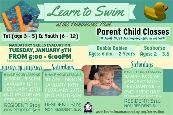 Swim Lessons Winter
