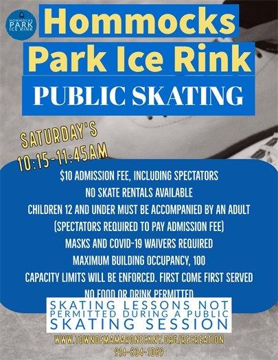 Hommocks Skating