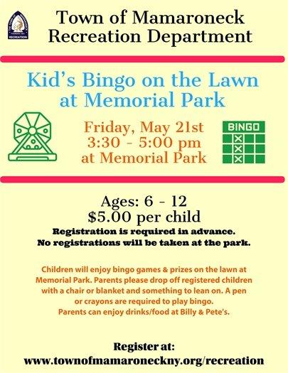 Kid's Bingo
