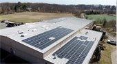 Rooftop Solar Panels on Hommocks Ice Rink