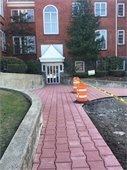 Town Center Parking Lot Construction -- Permeable Pavers