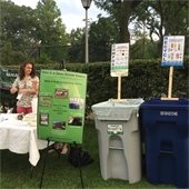 Sustainability Collaborative Volunteers at Summer Concert Series