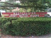 Photo of  Westchester Joint Water Works sign
