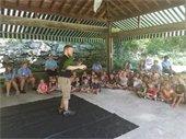 Camp Monroe Animal Show