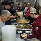 TMFD Cooking up a Storm for Residents in Need