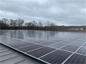 An Example of the Solar Power Panels to be Installed on Hommocks Ice Rink Roof