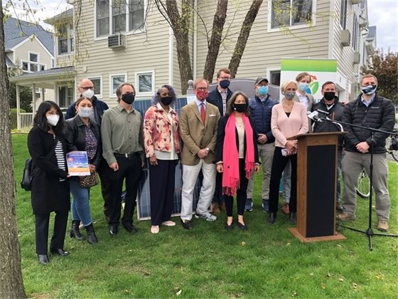 Community Solar Press Event