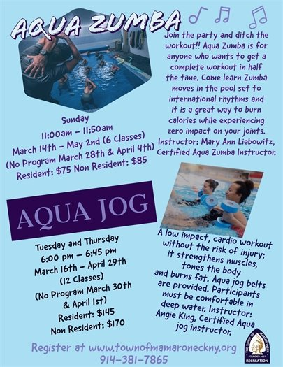 Aqua Zumba & Aqua Jog
