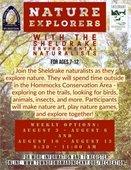 Nature Explorers Program