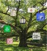 Reusable Bags in Tree