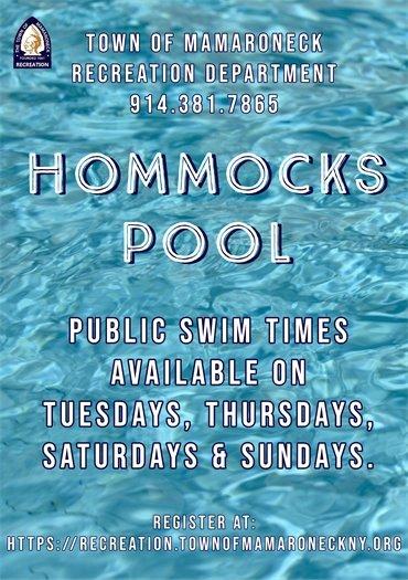 Hommocks Pool