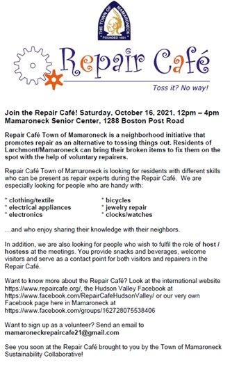 Repair Cafe Flyer