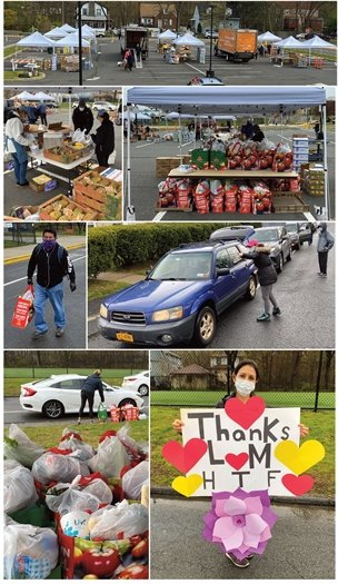 Larchmont Mamaroneck Hunger Task Force in Action