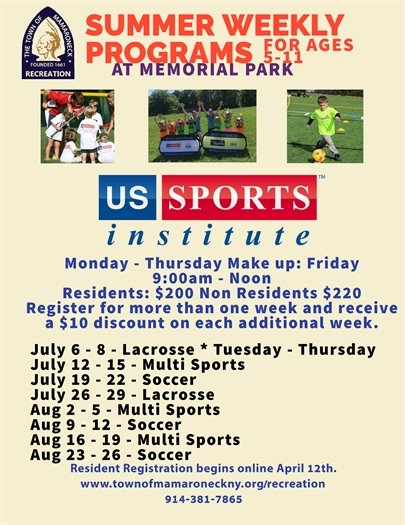 US sports summer weekly