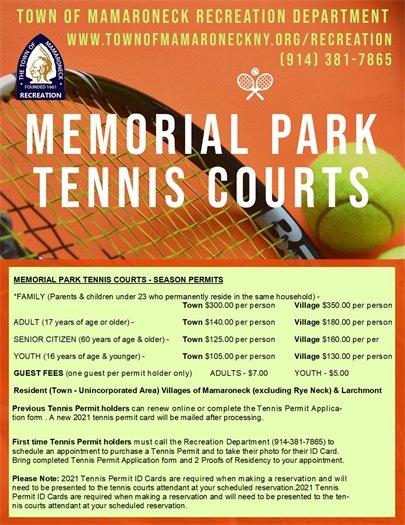Memorial Park Tennis