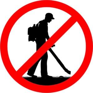 Leaf Blowers Banned Photo